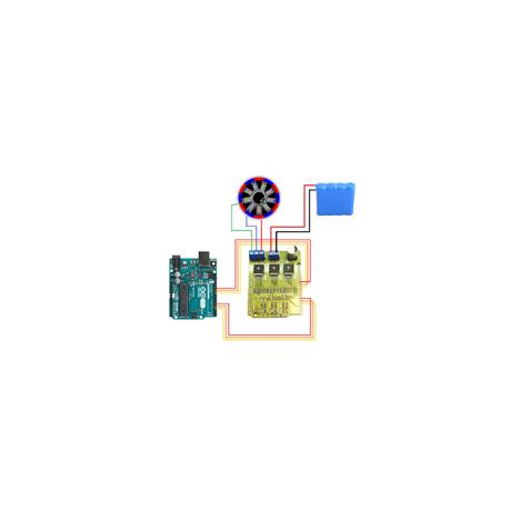 Arduino compatible BLDC shield